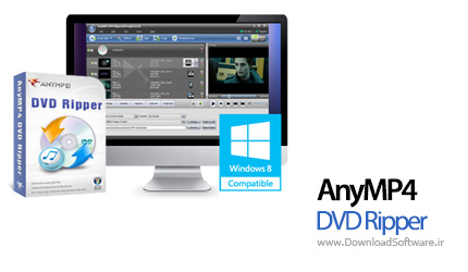 AnyMP4 DVD Ripper 7.2.10 – ریپ فایل های DVD