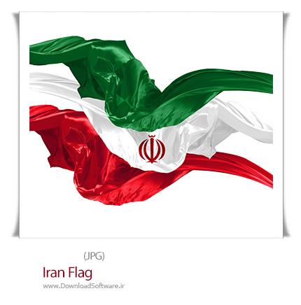 عکس پرچم ایران گرافیکی