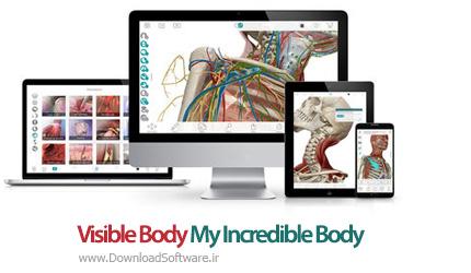دانلود Visible Body My Incredible Body نرم افزار سفر به داخل بدن