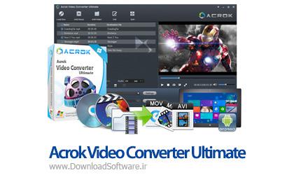 دانلود Acrok Video Converter Ultimate نرم افزار مبدل ویدئویی