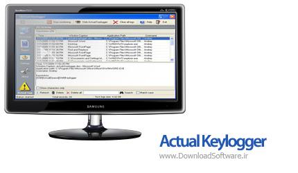 دانلود Actual Keylogger – نرم افزار مانیتورینگ فعالیت های کامپیوتر