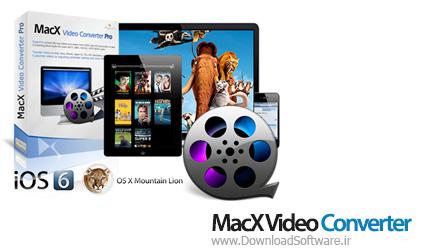 دانلود MacX Video Converter Pro نرم افزار مبدل ویدئویی برای مک
