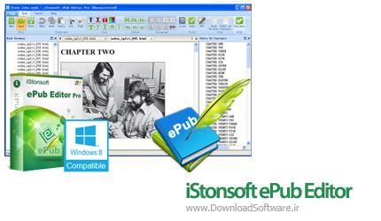 دانلود iStonsoft ePub Editor Pro نرم افزار ویرایش فایل ePub