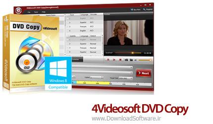 دانلود 4Videosoft DVD Copy نرم افزار کپی فایل های DVD