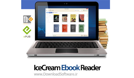 دانلود IceCream Ebook Reader PRO – کتاب خوان الکترونیکی
