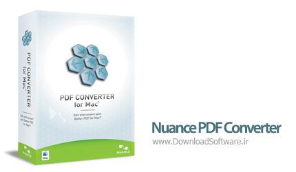 دانلود Nuance PDF Converter for Mac نرم افزار مبدل PDF برای مک