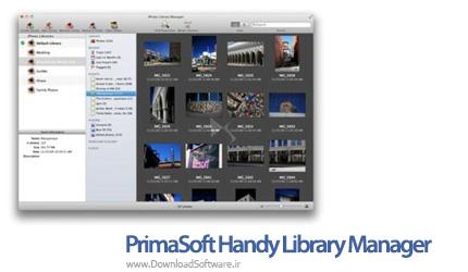 دانلود PrimaSoft Handy Library Manager نرم افزار مدیریت کتابخانه ها