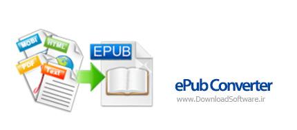 دانلود ePub Converter نرم افزار تبدیل فرمت اسناد epub