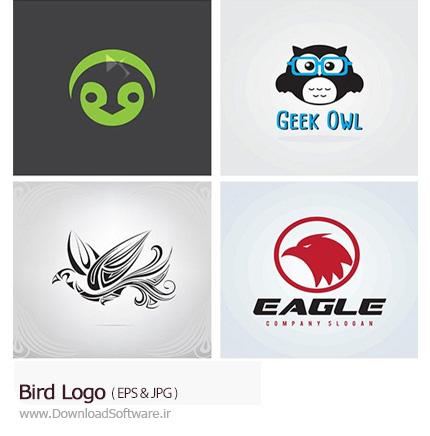 لوگوی جغد - دانلود رایگان نرم افزارBird Logo یک مجموعه ای از تصاویر وکتور آرم و لوگوی پرندگان با طرح های جذاب که با فرمت های EPS و JPG قرار گرفته شده است.