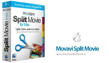 دانلود Movavi Split Movie MacOSX نرم افزار تقسیم ویدیو برای مک