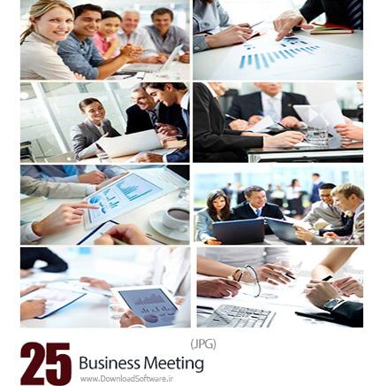دانلود تصاویر با کیفیت جلسات کاری، تجاری - Business Meeting