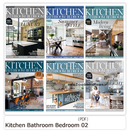 دانلود مجله دکوراسیون داخلی خانه، حمام و دستشویی - Essential Kitchen Bathroom Bedroom 2015 02