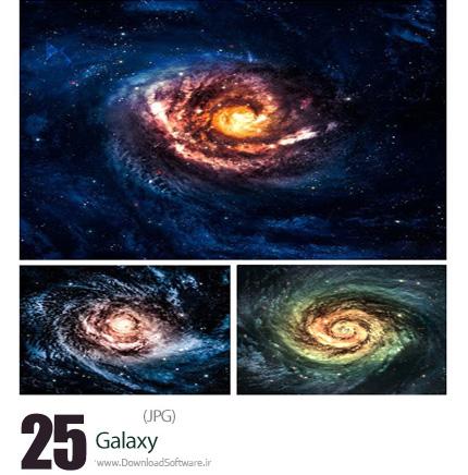 دانلود تصاویر با کیفیت کهکشان - Galaxy
