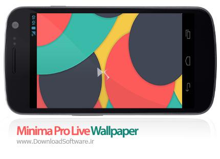 دانلود Minima Pro Live Wallpaper – لایو والپیپر مینیما برای اندروید
