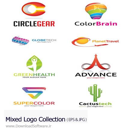 دانلود تصاویر وکتور آرم و لوگوی متنوع - Mixed Logo Collection
