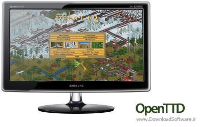 دانلود بازی OpenTTD + Portable بازی شهرسازی برای PC