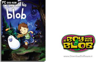 دانلود بازی کم حجم A Boy and His Blob برای PC