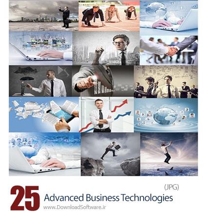 دانلود تصاویر با کیفیت تجارت با تکنولوژی پیشرفته - Advanced Business Technologies