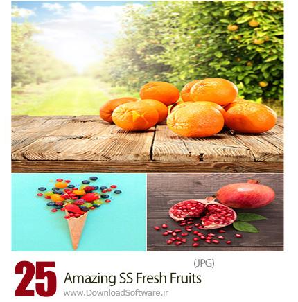 دانلود تصاویر با کیفیت میوه های تازه هندوانه، موز، کیوی و ... از شاتر استوک - Amazing ShutterStock Fresh Fruits
