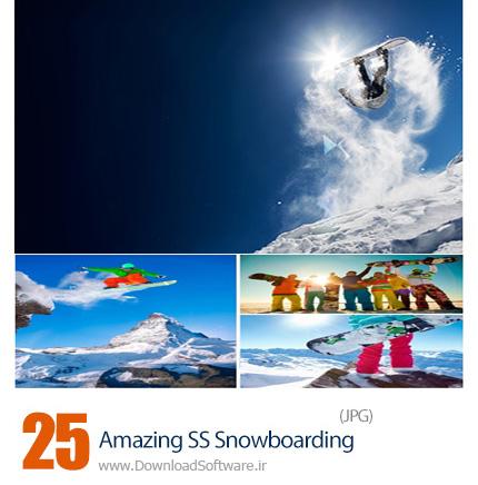 دانلود تصاویر با کیفیت اسنوبورد، اسکی روی برف، اسکیمو از شاتر استوک - Amazing ShutterStock Snowboarding