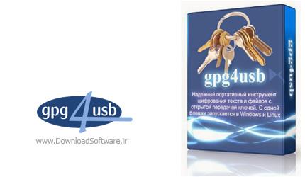 دانلود Gpg4usb نرم افزار رمزنگاری متن ها