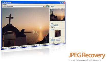 دانلود JPEG Recovery - نرم افزار بازیابی عکس ها با فرمت JPEG