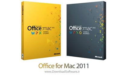 دانلود مجموعه کامل آفیس Office for Mac 2011