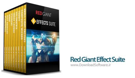 دانلود پلاگین Red Giant Effect Suite x64 برای افتر افکت