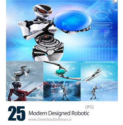 Stock-Photos-Modern-Designed-Robotic