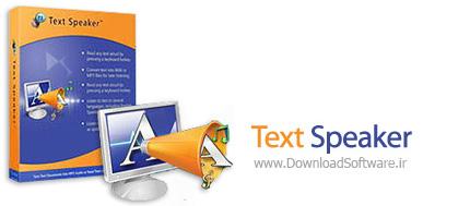 دانلود Text Speaker - نرم افزار متن خوان
