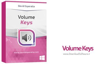 دانلود Volume Keys نرم افزار تغییر صدای اسپیکرها با صفحه کلید