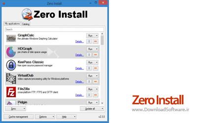 دانلود Zero Install نرم افزار دانلود برنامه های پرتابل
