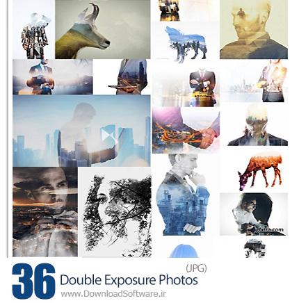 دانلود تصاویر با کیفیت افکت دابل اکسپوژر از شاتراستوک و فتولیا - Double Exposure Photos