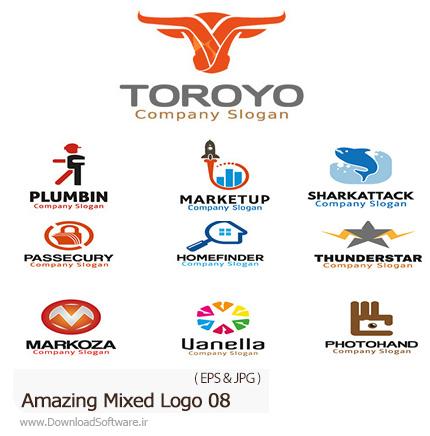 Amazing-Mixed-Logo-08