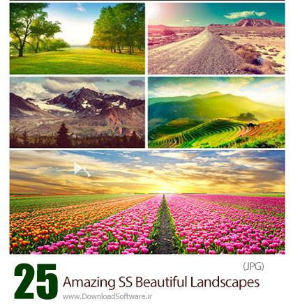 دانلود تصاویر با کیفیت منظره های زیبا از شاتراستوک - Amazing ShutterStock Beautiful Landscapes
