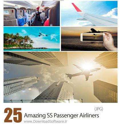 دانلود تصاویر با کیفیت هواپیمای مسافربری از شاتراستوک - Amazing ShutterStock Passenger Airliners