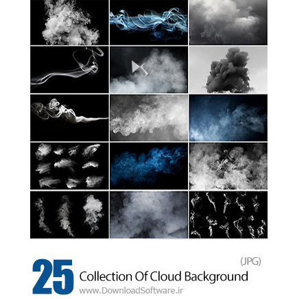 Collection-Of-Thoughts-Cloud-Pairs-Background-Is-Texture