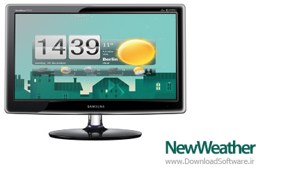 دانلود NewWeather نرم افزار هواشناسی برای دسکتاپ ویندوز