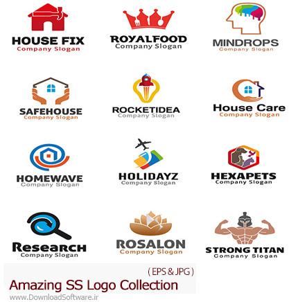 دانلود تصاویر وکتور آرم و لوگوهای مختلف شگفت انگیز - Amazing Mixed Logo 10