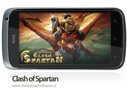 دانلود بازی کلش آف اسپارتان برای اندروید – Clash of Spartan 1.3.17 Android