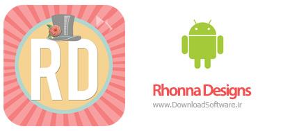 دانلود Rhonna Designs 2.7.5 نرم افزار ویرایش عکس برای اندروید
