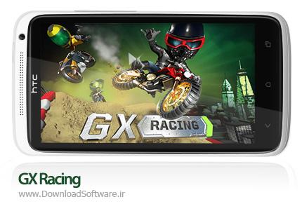 دانلود بازی GX Racing – موتورسواری جی ایکس برای اندروید