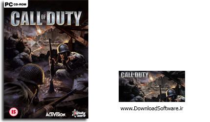 دانلود بازی اکشن Call Of Duty 1 برای PC