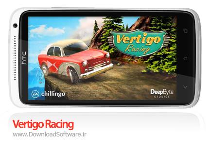 دانلود بازی Vertigo Racing – اتومبیل رانی دیوانه وار برای اندروید + نسخه مود