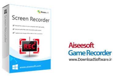 دانلود Aiseesoft Game Recorder v1.1.22 نرم افزار ضبط ویدیوهای بازی ها