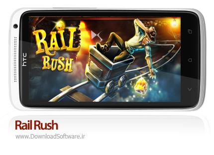 دانلود Rail Rush بازی راه آهن راش برای آندروید + نسخه مود