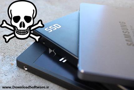 آموزش تعیین طول عمر باقی مانده از حافظه های SSD !