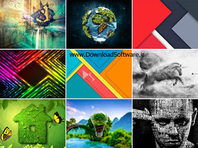 دانلود مجموعه 75 والپیپر خلاقانه Creative Art HD Wallpapers