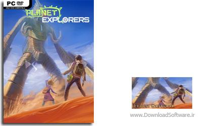دانلود بازی Planet Explorers برای PC
