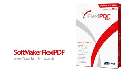 دانلود SoftMaker FlexiPDF 2017 Professional – ساخت و ویرایش حرفه ای اسناد PDF